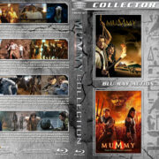 The Mummy Collection (1999-2017) R1 Custom Blu-Ray Cover V2