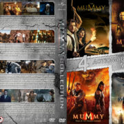 The Mummy Collection (1999-2017) R1 Custom DVD Cover