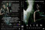 Alien Covenant (2017) R1 CUSTOM DVD Cover & Label
