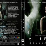 Alien Covenant (2017) R1 CUSTOM DVD Cover & Label