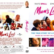 Mum's List (2016) R2 CUSTOM DVD Cover & Label