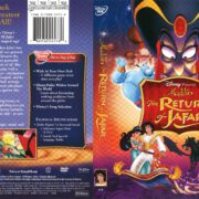 Aladdin: The Return of Jafar (2005) R1 DVD Cover