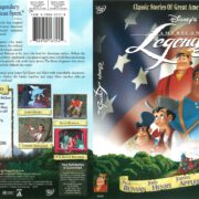 Disney's American Legends (2001) R1 DVD Cover