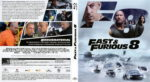 Fast & Furious 8 (2017) R2 German Blu-Ray Cover & Label