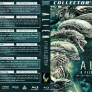 Alien 6-Film Collection (1979-2017) R1 Custom Blu-Ray Cover
