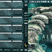 Alien 6-Film Collection (1979-2017) R1 Custom Cover