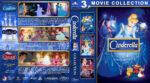 Cinderella Collection (1950-2007) R1 Custom Blu-Ray Cover