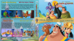 The Emperor's / Kronk's New Groove Double Feature (2000-2005) R1 Custom Blu-Ray Cover