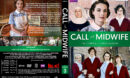 Call the Midwife - Season 3 (2014) R1 DVD Cover & Labels