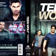 Teen Wolf – Season 2 (2012) R2 German Blu-Ray Cover & Labels