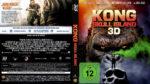 Kong Skull Island 3D (2017) R2 German Custom Blu-Ray Covers & Label