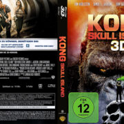 Kong Skull Island 3D (2017) R2 German Custom Blu-Ray Covers & Label