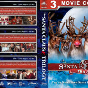 The Santa Clause Trilogy (1994-2006) R1 Custom Blu-Ray Cover V3