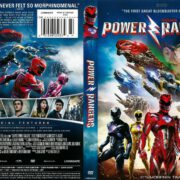 Power Rangers (2017) R1 DVD Cover