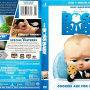 The Boss Baby (2017) R1 DVD Cover