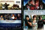 Resident Evil Vendetta (2017) R1 DVD Cover