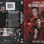 Criminal Minds – Beyond Borders: The First Season (2016) R1 DVD Cover & Labels