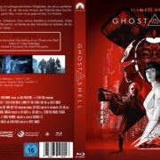 Ghost in the Shell (2017) R2 German Custom Blu-Ray Cover