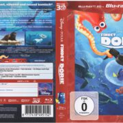 Findet Dorie 3D (2017) R2 German Blu-Ray Cover