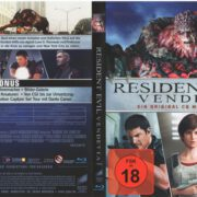 Resident Evil Vendetta (2017) R2 German Blu-Ray Cover