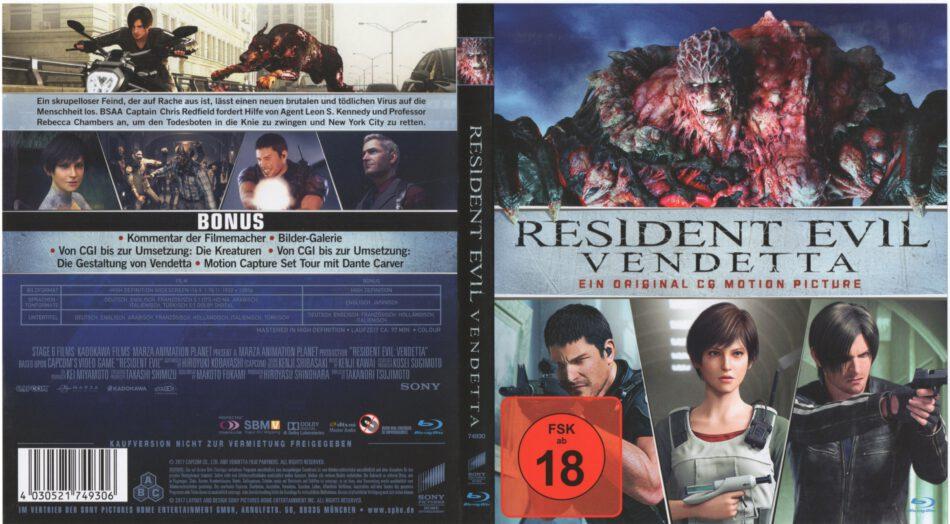 Resident Evil Vendetta Deutsch