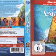 Vaiana 3D (2017) R2 German Blu-Ray Cover