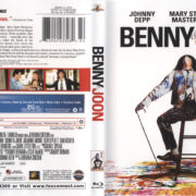 Benny & Joon (1993) R1 Blu-Ray Cover & label