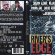 River's Edge (1987) R1 Blu-Ray Cover & Label