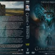 Game Of Thrones: Season 7, Volume 2 (2017) R0 Custom Cover & Labels