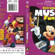 Classic Cartoon Favorites: Extreme Music Fun (2005) R1 DVD Cover