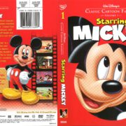 Classic Cartoon Favorites: Starring Mickey (2005) R1 DVD Cover
