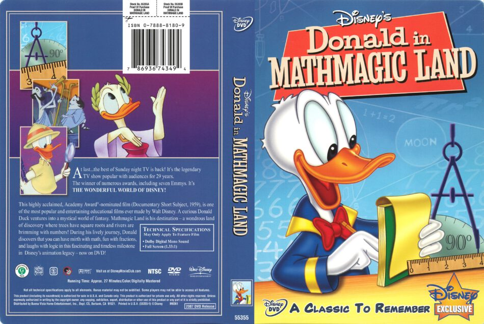 Donald Duck In Mathmagic Land Worksheet  Donald no País ...
