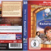 Ratatouille 3D (2014) R2 German Blu-Ray Cover