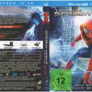 Spiderman 2 Rise Of Elektro 3D (2014) R2 German Blu-Ray Cover