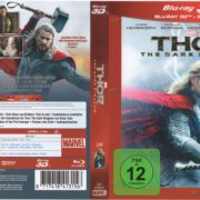 Thor 2 3D (2014) R2 German Blu-Ray Cover