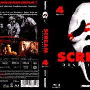 Scream Quadrilogy (2013) R2 German Blu-Ray Cover
