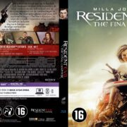 Resident Evil The Final Chapter (2016) R2 Dutch Blu-Ray Cover