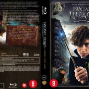 Fantastic Beasts And Where to Find Them (2016) R2 Dutch Blu-Ray Cover
