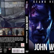 John Wick Chapter Two (2017) R2 V2 Custom Czech DVD Cover