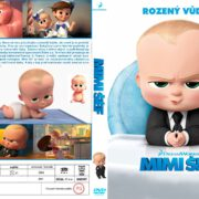 The Boss Baby (2017) R2 Custom Czech DVD Cover