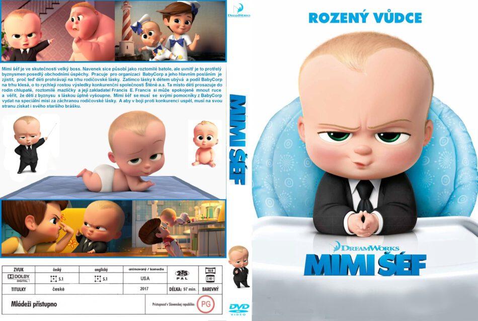 The Boss Baby 2017 R2 Custom Czech Dvd Cover Dvdcover Com