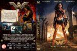 Wonder Woman (2017) R2 Custom Czech DVD Cover