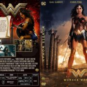 Wonder Woman (2017) R2 Custom Czech DVD Cover