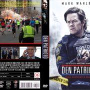 Patriots Day (2016) R2 Custom Czech DVD Cover