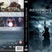 Resident Evil Vendetta (2017) R2 Custom Czech DVD Cover