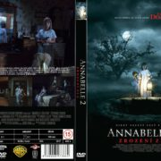 Annabelle 2 (2017) R0 Custom Czech DVD Cover