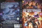 Justice League Vs. Teen Titans (2016) R2 Czech DVD Cover