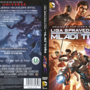 Justice League Vs. Teen Titans (2016) R2 Czech DVD Cover
