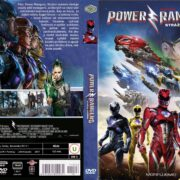 Power Rangers (2017) R2 Custom Czech DVD Cover