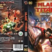 Teen Titans The Judas Contract (2017) R2 Czech DVD Cover